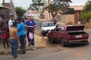 Motorista foge da PM e causa dois acidentes