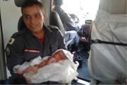 Corpo de Bombeiros socorre bebê que nasceu no meio da rua