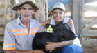 Capal destaca primeira bezerra nascida por inseminação artificial no Sítio do Capivara