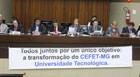 Bosco participa de mais uma audiência sobre transformação do Cefet-MG