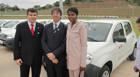 Deputado Bosco entrega veículos para três prefeituras