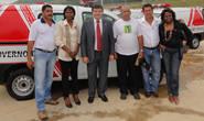 Três cidades recebem ambulâncias por indicação de Bosco