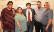 Bosco anuncia cobertura de quadra e ambulância para Conquista