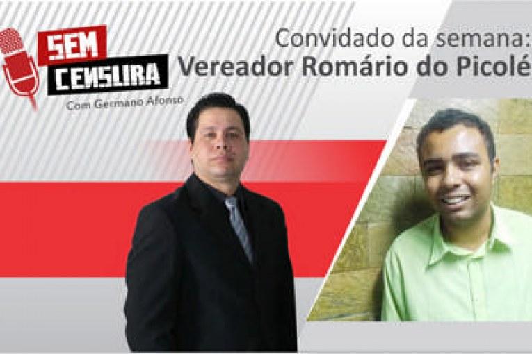 """Romário dispara: """"Eu acho que os vereadores de Araxá deviam tomar vergonha na cara"""""""