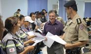Agentes de trânsito e vigilantes patrimoniais recebem certificado