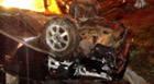 Condutor perde o controle de veículo e capota na avenida Imbiara