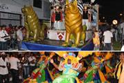 Unidos do Morro é bicampeã do Carnaval em Araxá