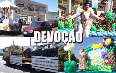 Mais de 1,5 mil veículos participam da carreata de São Cristóvão
