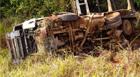 Motorista sofre acidente em curva na BR-146 e morre no hospital