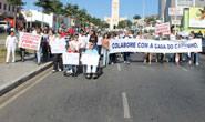 Araxaenses voltam às ruas para manifestar pela Casa do Caminho