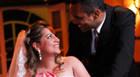 A troca de alianças de Fernanda e Eduardo
