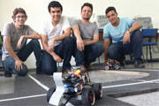 Cefet Araxá conquista ouro e prata na 1ª Competição de Robôs Autônomos da UFMG