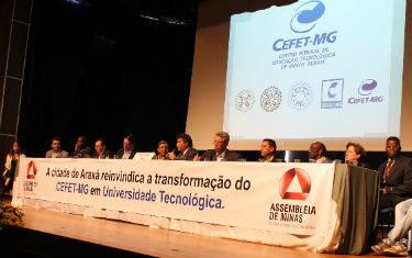 Assembleia promove audiência que debateu transformação do Cefet em Universidade Tecnológica