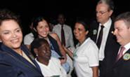 Anastasia e Dilma lançam projeto do Rede Cegonha