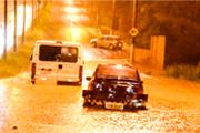 Chuva forte alaga principais vias de Araxá e causa prejuízos