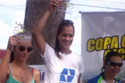 Ana Cláudia vence primeira etapa na Copa Carmo de Ciclismo