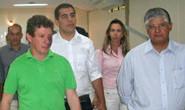Clésio Andrade visita obras do Sest Senat em Araxá