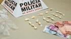 Homem é preso com 20 papelotes de cocaína