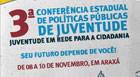 Terceira Conferência Estadual da Juventude acontece em Araxá