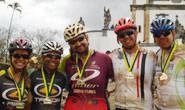 Grupo araxaense participa de desafio de ciclismo