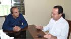 Miguel Júnior visita Consep para debater segurança pública