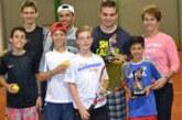 Tenistas de Araxá são destaque na Liga Triangulina