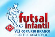 VII Copa Rio Branco de Futsal Infantil começa neste sábado