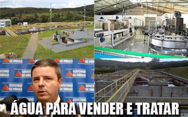 Copasa inaugura dois empreendimentos em Araxá