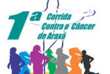Inscrições abertas para a 1ª Corrida Contra o Câncer de Araxá