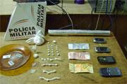 PM prende 12 pessoas envolvidas com o tráfico de drogas