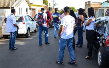Polícia Civil realiza reconstituição do assassinato do comerciante Alonso Santos