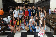 Alunos e professores da Cultura Inglesa visitam França e Inglaterra