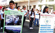 Desfile cívico encerra a Semana da Pátria em Araxá