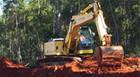 Construção do trevo no Distrito Industrial é iniciada