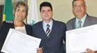 Jeová Moreira, Edna Castro e vereadores eleitos são diplomados