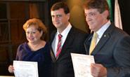 Aracely e Lídia são diplomados pela Justiça Eleitoral