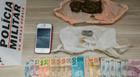 Autores são presos por tráfico de drogas no Santa Mônica