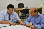 Vereador Fabiano reúne com empresário para discutir novo projeto