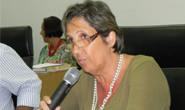 Edna Castro passa mal durante reunião ordinária