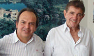 Miguel Jr. recebe visita do deputado Aracely de Paula