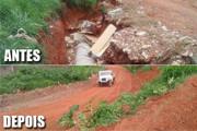 Desenvolvimento Rural inicia melhorias nas estradas vicinais