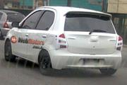 Toyota Etios é flagrado rodando no Brasil