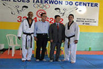 Evandro Carlos da Silva foi promovido de professor para Mestre faixa Preta 4 Dan