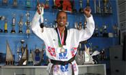 Evandro é ouro e prata no Mineiro de Taekwondo