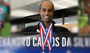Evandro conquista dois ouros em competição nos Estados Unidos