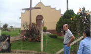 Vereador Fabiano visita Paróquia Sagrada Família