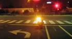 Mulher é atropelada na faixa e xingada por motociclista que não prestou socorro