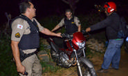 PM recupera moto furtada