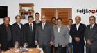 Comitiva de Araxá visita presidente da Fecomércio MG