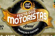 Mudanças na programação da Festa dos Motoristas 2013